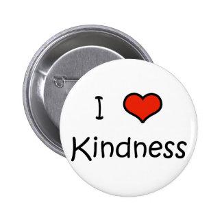 I Love Kindness 2 Inch Round Button