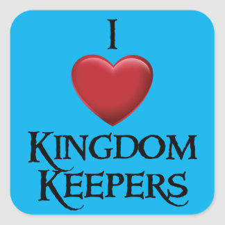 I love Kingdom Keepers Sticker