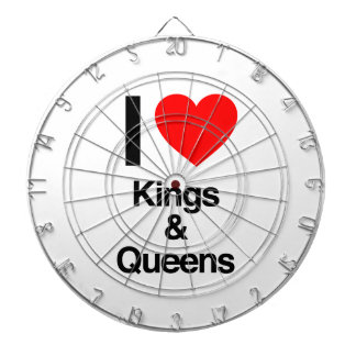 i love kings and queens dart boards