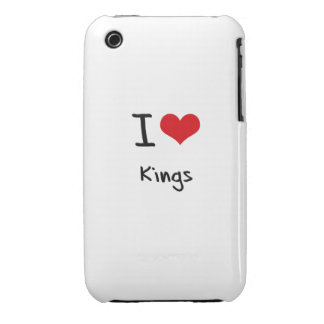 I love Kings iPhone 3 Case