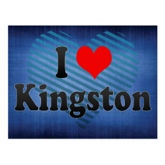 I Love Kingston, Jamaica Postcard
