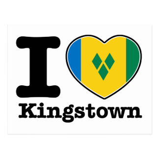 I love Kingstown Postcard