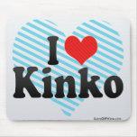 I Love Kinko Mouse Pads
