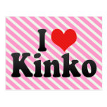 I Love Kinko Postcards