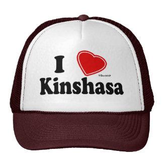 I Love Kinshasa Trucker Hats