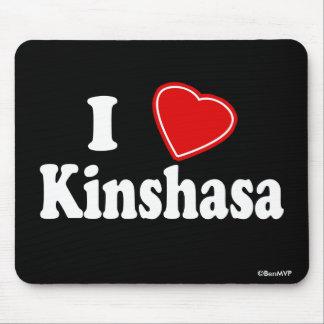 I Love Kinshasa Mouse Pad