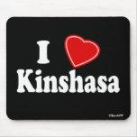 I Love Kinshasa Mouse Pads
