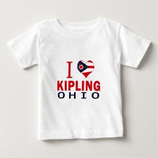 I love Kipling, Ohio Tshirt