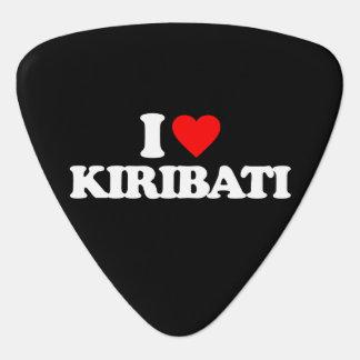 I LOVE KIRIBATI GUITAR PICK