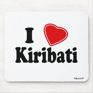 I Love Kiribati Mouse Pad