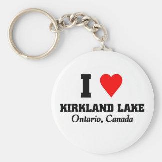 I love Kirkland Lake Keychain