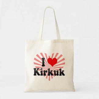I Love Kirkuk, Iraq Budget Tote Bag