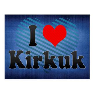 I Love Kirkuk, Iraq Postcard