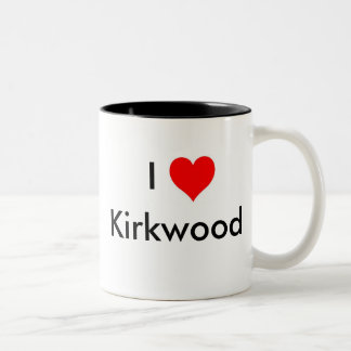I Love Kirkwood Coffee Mug