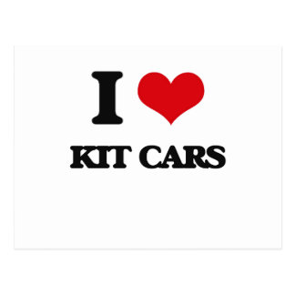 I Love Kit Cars Postcards
