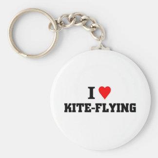 I love Kite-Flying Keychain