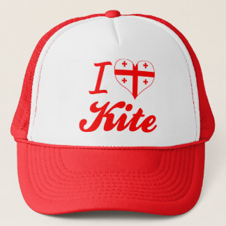 I Love Kite, Georgia Trucker Hat