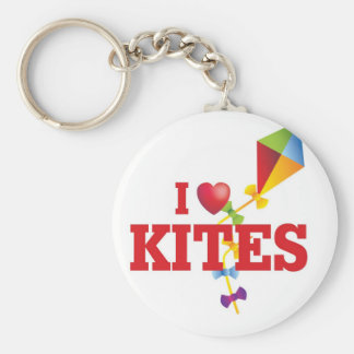i love kite keychain