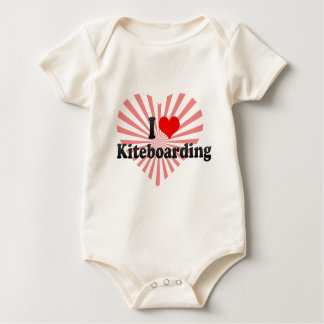 I love Kiteboarding Baby Bodysuit