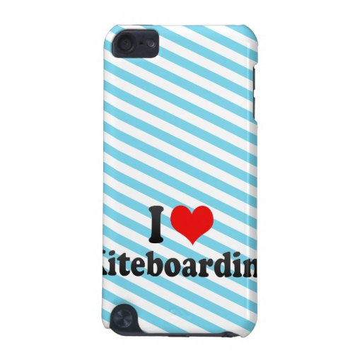 I love Kiteboarding iPod Touch (5th Generation) Cases