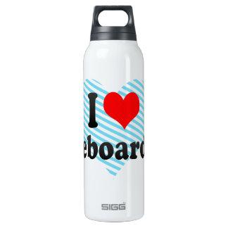 I love Kiteboarding Insulated Water Bottle
