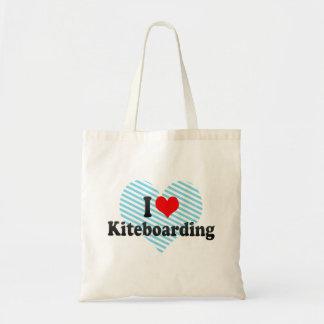 I love Kiteboarding Tote Bag