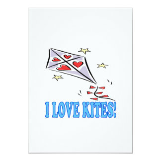 I Love Kites 2 Card