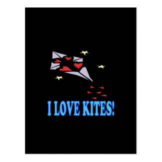 I Love Kites 2 Postcard