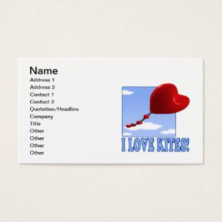 I Love Kites Business Card