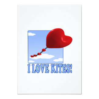 I Love Kites Card