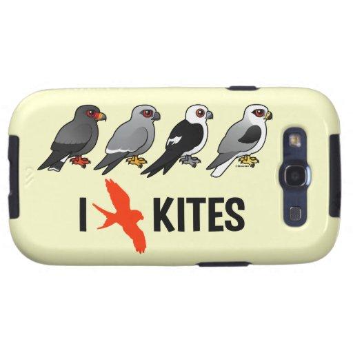 I Love Kites Galaxy SIII Case