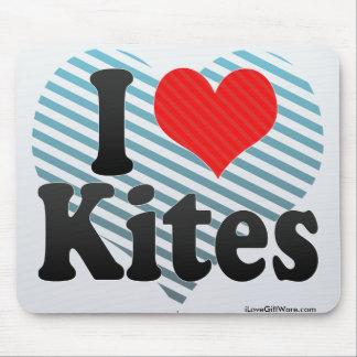 I Love Kites Mouse Pad