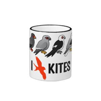 I Love Kites Coffee Mugs
