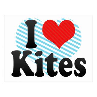 I Love Kites Postcard