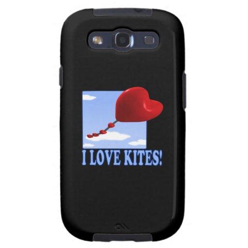 I Love Kites Samsung Galaxy SIII Covers