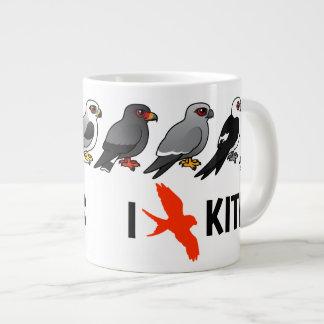 I Love Kites Jumbo Mug