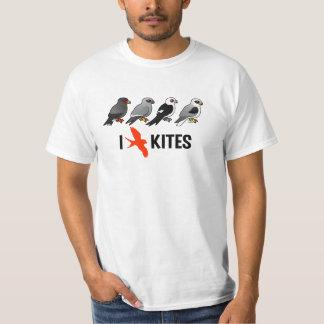 I Love Kites Tee Shirt
