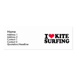 I love Kitesurfing Business Cards