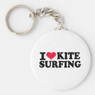 I love Kitesurfing Keychain