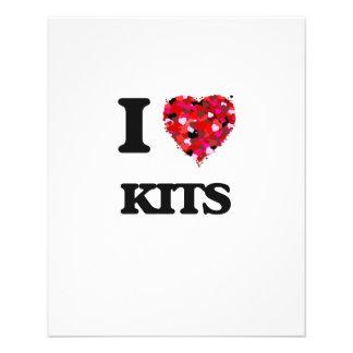 "I Love Kits 4.5"" X 5.6"" Flyer"