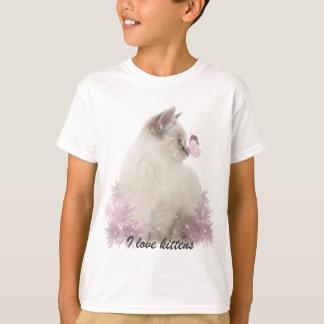 I love kittens t shirt