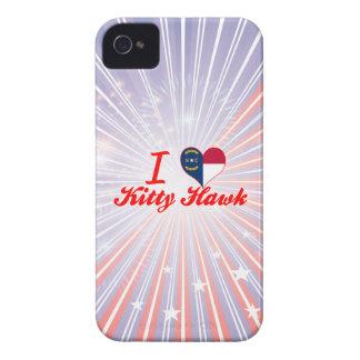 I Love Kitty Hawk North Carolina Case-Mate iPhone 4 Case
