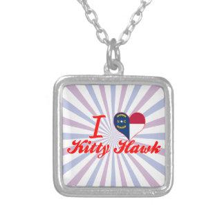 I Love Kitty Hawk North Carolina Necklaces