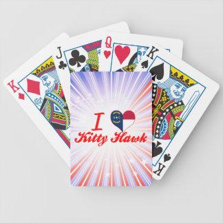 I Love Kitty Hawk North Carolina Bicycle Card Decks