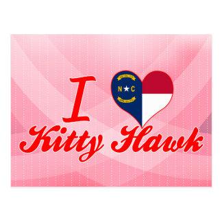 I Love Kitty Hawk North Carolina Post Cards