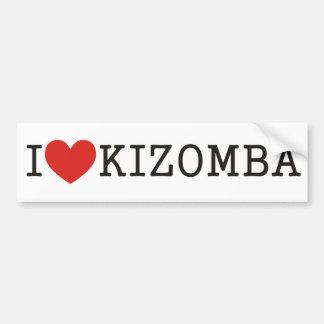 I love Kizomba Car Bumper Sticker