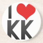 I Love KK Coasters