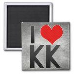 I Love KK Magnets