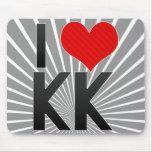 I Love KK Mouse Pad