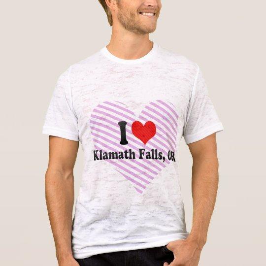 I Love Klamath Falls, OR T-Shirt
